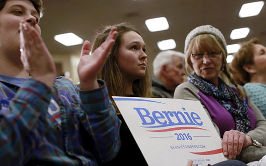 Bernie Mania is Real and Powerful