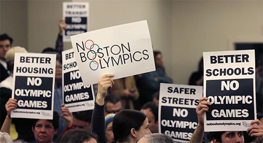 Boston's support for 2024 Olympics bid might be headed to the ballot