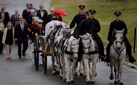 A Marine, Gone But Not Forgotten, Laid To Rest After 74 Years