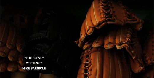 'THE GLOVE' NARRATED BY ROBERT REDFORD, INSPIRED BY AN ESSAY BY MIKE BARNICLE FOR ESPN