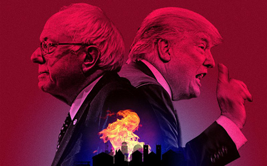 The Two Americas Behind Donald Trump and Bernie Sanders